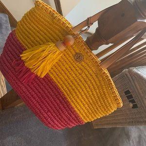 Tory Burch Summer Straw Bag